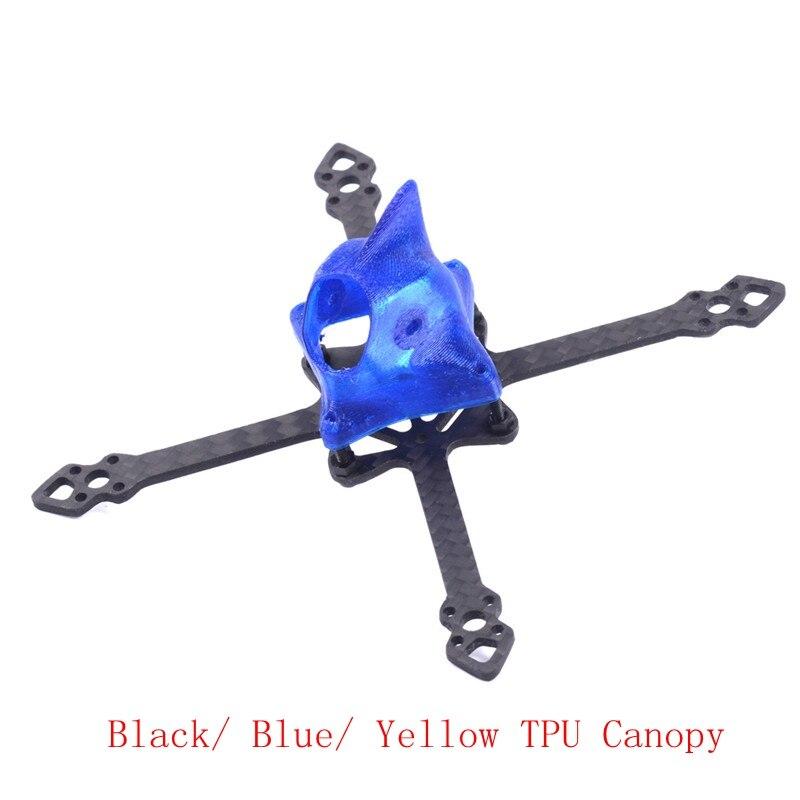 """HSKRC 3"""" 155mm 3K Carbon Fiber FPV Racing Frame Kit Runcam Split Caddx Turtle"""