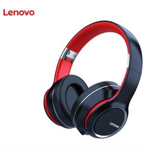 Image 5 - Lenovo سماعة رأس لاسلكية تعمل بالبلوتوث ، سماعة رأس استريو HIFI مع إلغاء الضوضاء لألعاب الفيديو ، طراز HD200