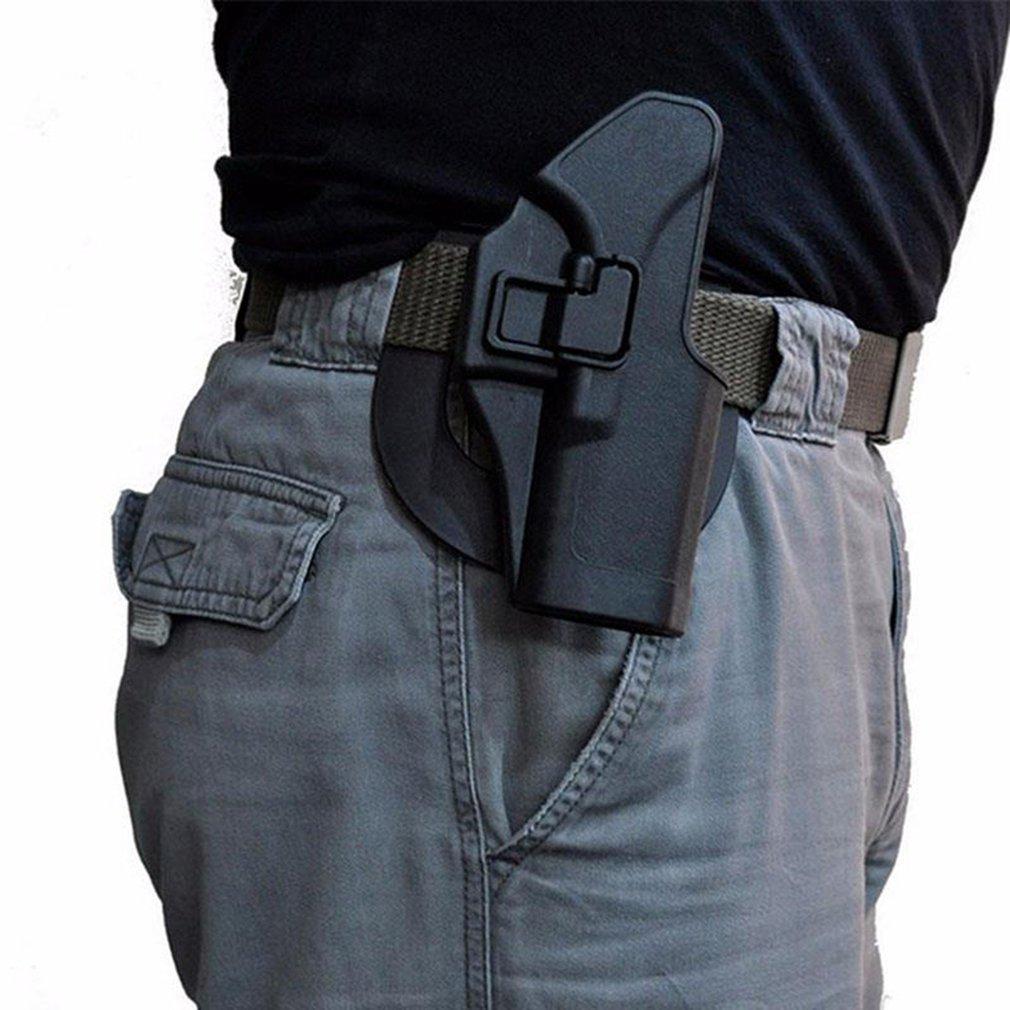 Taktische CQC Serpa Verschleierung Schnell Rechts Hand Taille Paddle Gürtel Schleife Pistole Holster Pistole Fall für Glock 17 19 22 23 31 32