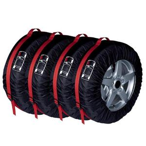 Image 3 - 4Pcs Spare Tire Cover Case Polyester Universal Car Auto Tires Storage Bag Automobile Tyre Accessories Vehicle Wheel Protector