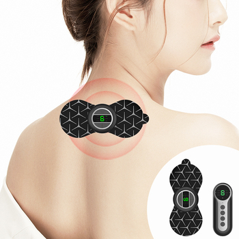 Mini Cervical Patch Pulse Massage Paste With Portable Wireless USB Charging Mini Massage Instrument