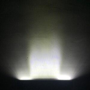 Image 5 - Üçlü satır Led çalışma ışığı Off road Bar için 12V araba Uza tekne ATV 4WD Suv kamyonlar 4x4 Offroad Lada Niva Combo sürüş Barra ışıkları