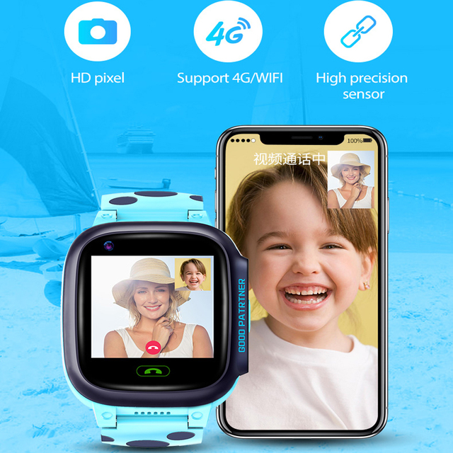 Y95 4G Child Smart Watch Phone GPS Kids Smart Watch Waterproof Wifi Antil-lost SIM Location Tracker Smartwatch HD Video Call 3