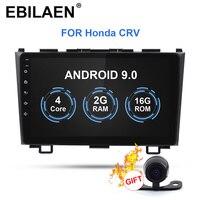 EBILAEN Android 9.0 Car Multimedia Player For Honda CRV CR V 2006 2011 2Din Car AutoRadio Stereo DVD GPS Navigation