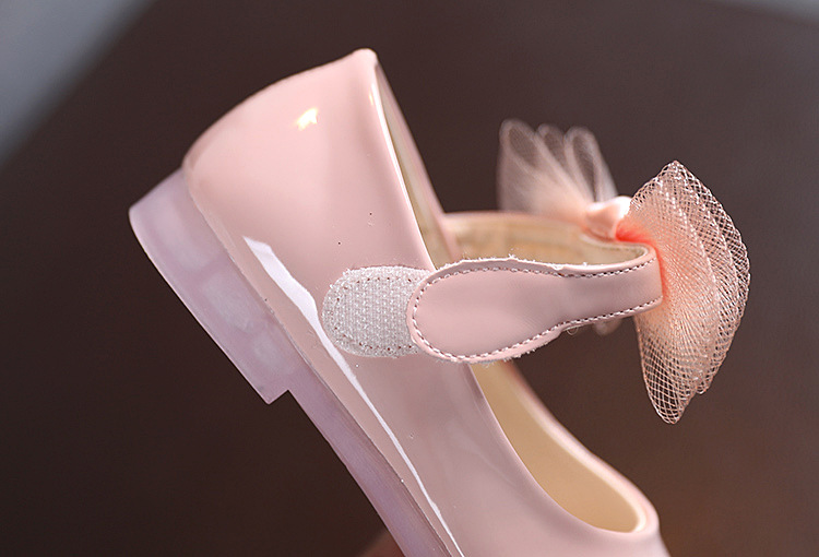 Filles espagnol Chaussures En Cuir Noeud Bleu Marine Rose Beige Blanc camel rouge gris PETIT Ajustement *