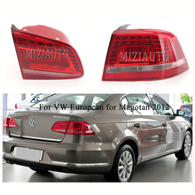 Rear Tail light For VW European for Magotan 2012 year turn signal taillights assembly Rear Bumper Light Stop Lamp fog lamp