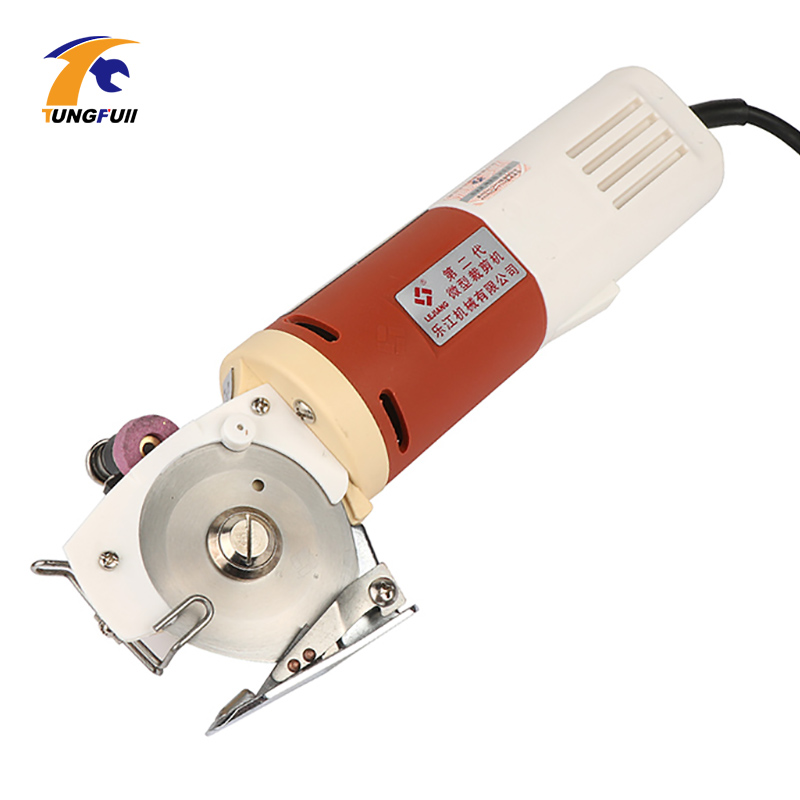 Machine de découpe de tissu de coupeur de tissu de couteau rond électrique de lame rotatoire de 220 V/110 V EU/US 65mm