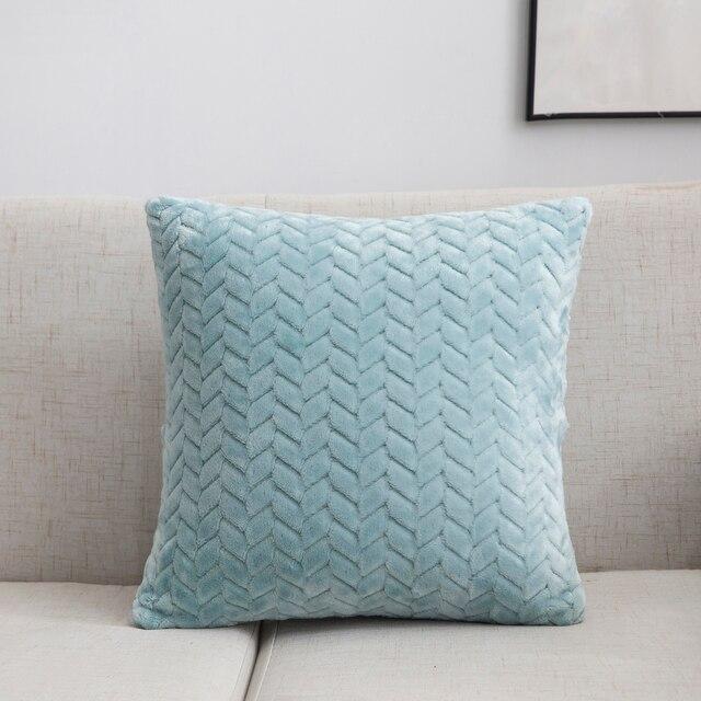 Soft Plush Cushion Cover 6