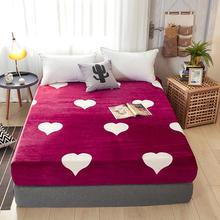 Nueva y cálida sábana plana de franela, Sábana ajustable para cama, doble cama King, sábanas, colchón, sábanas Sabanas, envío gratis