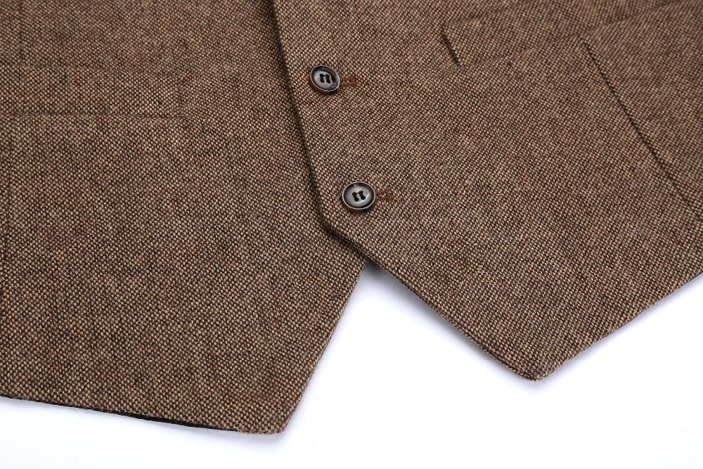 Buttons Donegal Tweed