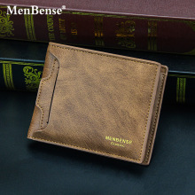 MenBense Men #8217 s Wallet 2020 Fashion Casual Men #8217 s Card Case Short Wallet Wallet Men cheap YOUSE 0 08kg Polyester 9 5cm Solid 11 5cm No Zipper