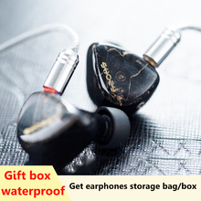 Shozy FORM 1.4 5 Driver Hybrid Monitors Wood Headphones Hifi