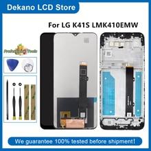 Tela original para lg k41s lcd screen display toque digitador assembléia lcd para lg k41s lmk410emw LM-K410EMW LM-K410 substituição