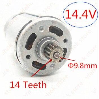 14 Teeth  RS-550VC DC 14.4V Motor Replace For MAKITA 629819-4  6381D BDF343 6280D 6280DWE 6281DWE 6281D MT070 6280DWPE 6280PWPE3