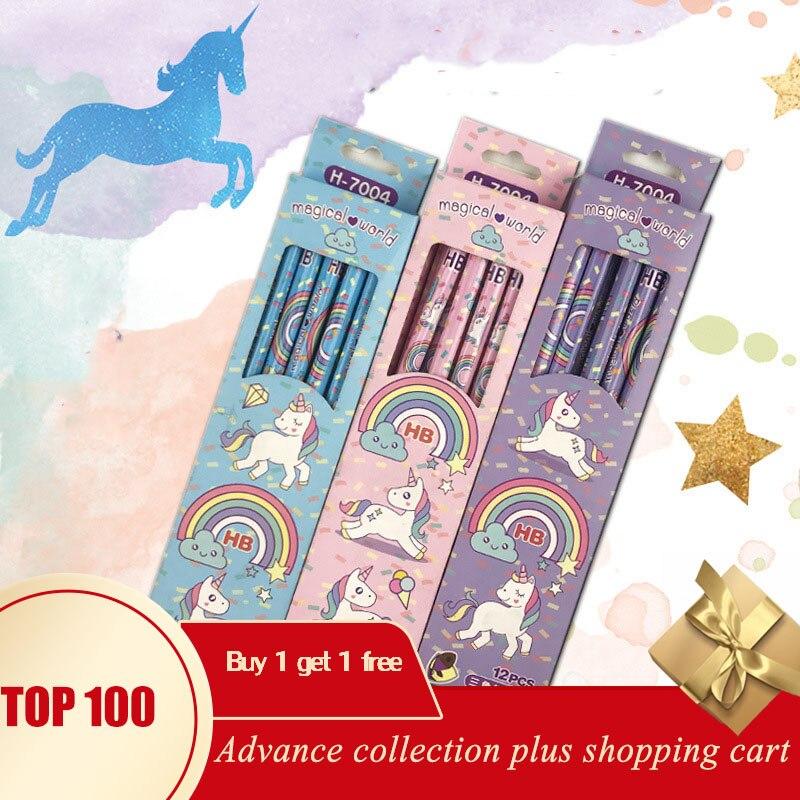 Lapiz navidad material escolar lápis escolar lapis de escrever infantilunicorn lapiz navidad material para colorir escolar infantil