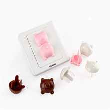 Power-Socket Safety-Guard-Protection Anti-Electric-Shock-Plugs-Protector Baby Kids Child