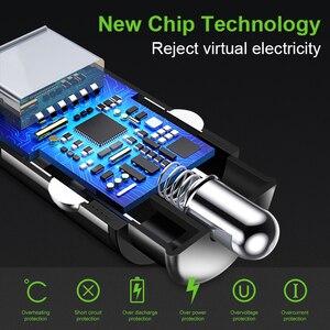 Image 2 - Chargeur de voiture Pour iPhone 7 8 Plus XR XS IPad Chargeur De Téléphone Portable De Charge Rapide Double USB Chargeurs Pour Samsung S8 A30 A50 Comprimés