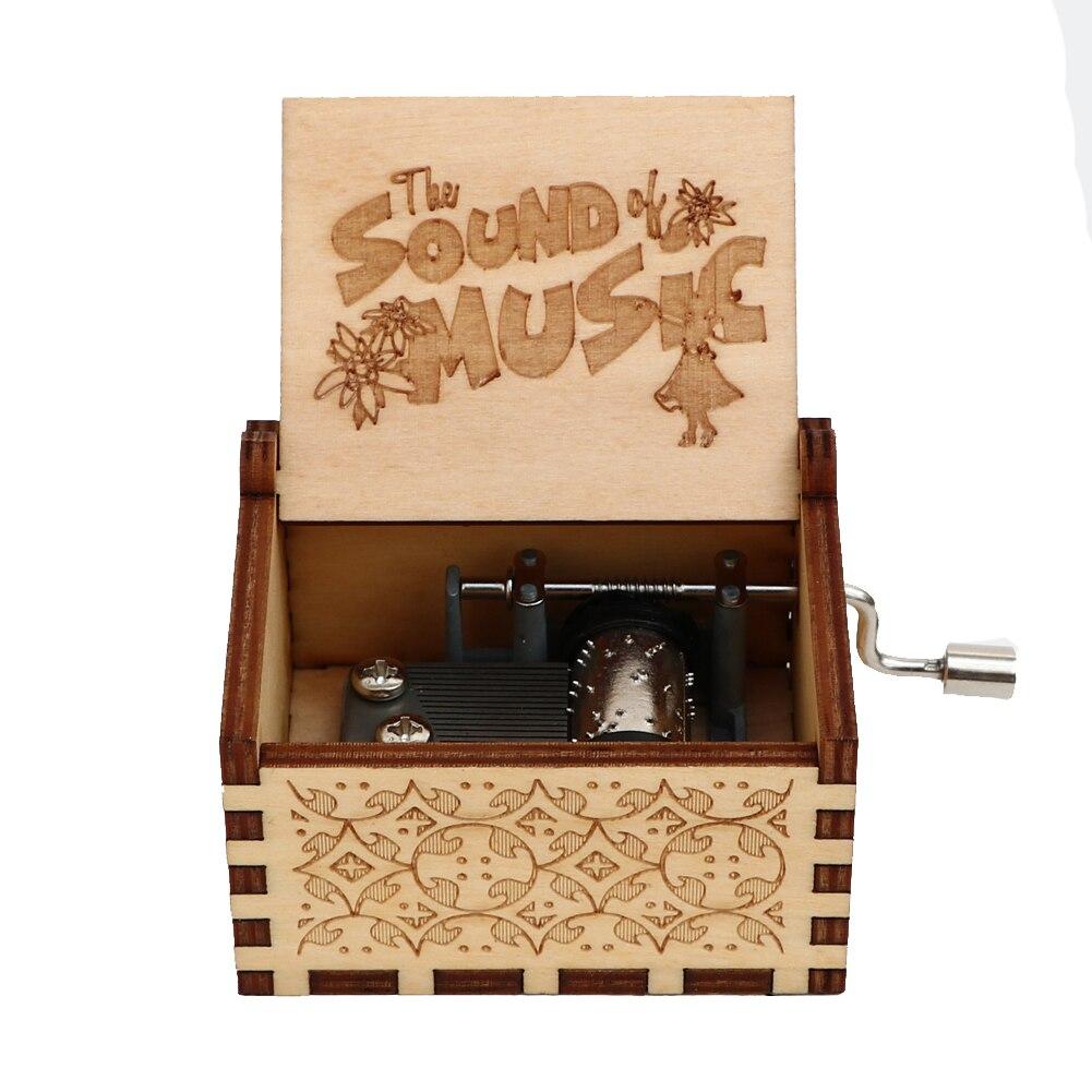 Гравировка ручной работы деревянная Настя музыкальная копилка подарок на день рождения на Рождество, дочь, подарки на день рождения для влюбленных