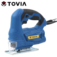 TOVIA 400W Jig Saw Bevel Angle Adjustment Electric Jigsaw Wood Working DIY Variable Speed