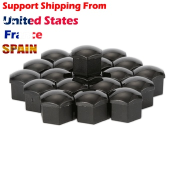 20PCS 17mm Protecting Bolt Car Wheel Lug Nut Bolt Cover Caps for for VW Wheel Hub with Screw Protector Tools Accessory Hub image
