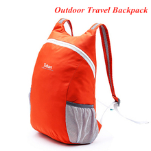 2020 nowy 18L lekki przenośny plecak wodoodporna torba składana kobiety mężczyźni podróży piesze wycieczki Ultralight opakowanie na zewnątrz tanie i dobre opinie TFSCLOIN cx88 Unisex Wear-resistant waterproof no deformation easy to clean Miękka osłona NYLON Backpack Women Men