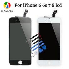 قطع غيار لشاشة AAA عالية الجودة لهواتف iPhone 7 8 6S 6 6G تعمل باللمس وشاشة LCD تعمل باللمس مقاس 4.7 بوصة 6s 8 7 6 مجموعة رقمية