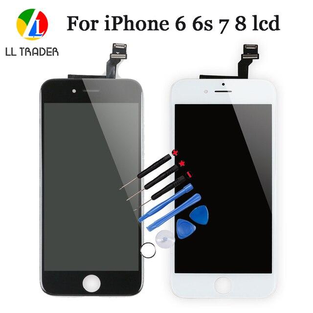 品質aaaディスプレイの交換部品iphone 7 8 6s 6 6 グラムタッチスクリーンlcdディスプレイタッチ 4.7 インチ 6s 8 7 6 デジタイザアセンブリ