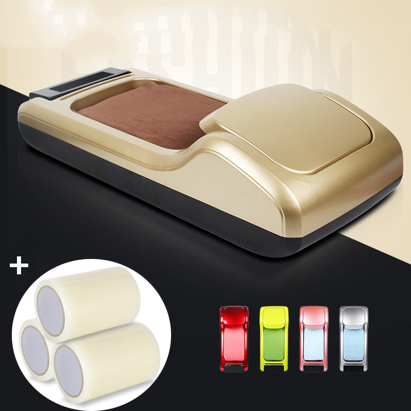 600/1200pairs Automatic Shoe Cover Membrane Dispenser Shoe Sole Cover For Household Hotel Office Time & Labor Saving Machine
