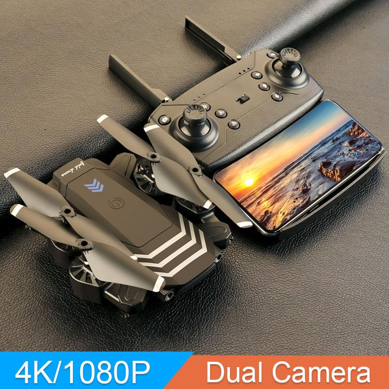 Professional 4K HD Aerial Photo Foldable USB Charging 2 4GHz Smart Remote Control Drone Quadcopter RC Drone Aircraft