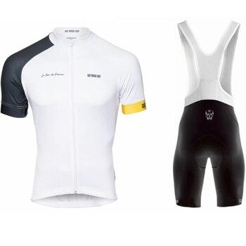 Conjunto de Ropa de Ciclismo GO Rigo para hombre, camisetas y pantalones...
