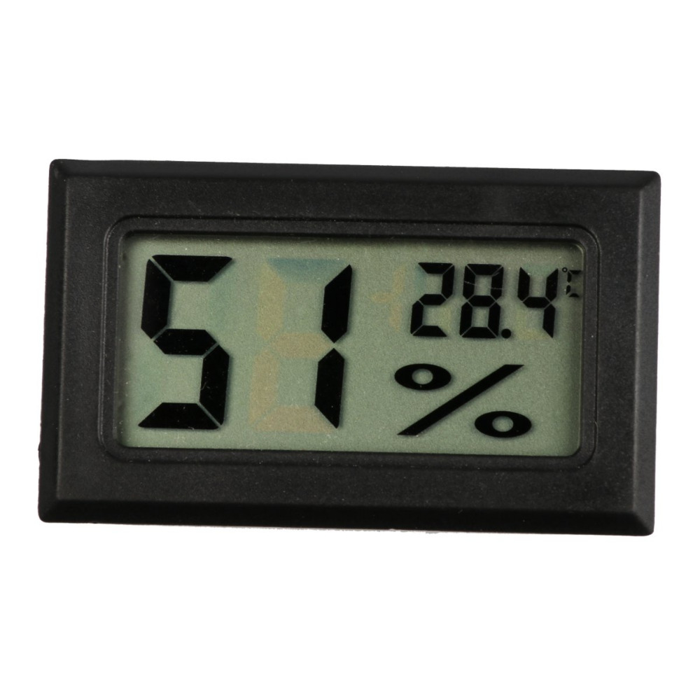 Mini Digital LCD Thermometer Hygrometer Indoor Convenient Sensor Fridge Freezer Temperature Humidity Meter cooking thermometer