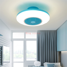 Modern Ceiling Fan Lights Dining Room Bedroom Living Remote Control Fan Lamps Invisible Ceiling Lights Fan Lighting Small Office Buy Inexpensively In The Online Store With Delivery Price Comparison Specifications Photos