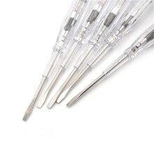 1pcs  Induced Electrical Tester Screwdriver Test Probe Pen Voltage Detector Light  100-500V