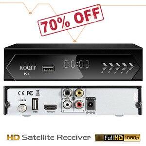 Caixa de tv digital DVB-S2 hd receptor receptor satélite iptv m3u media player youtube gravador usb wifi rj45 ethernet bissvu koqit