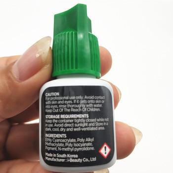 IB 1 Set Ultra Super Glue Lash Primer Lash Remover for Eyelash Extensions Glue Fast Dry LongTime Korea Black False eyelash Glue 4