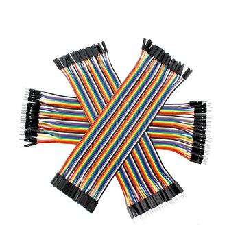 Cable eléctrico Dupont macho-macho, hembra-hembra, hembra-macho, 30 20 10cm para Arduino Diy Kit 1