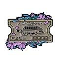 Мой сосед Тоторо Catbus брошь односторонняя булавка для билета для студии ghiали для фанатов цветочное художественное дополнение