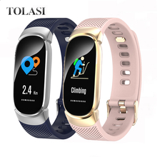 IP67 Waterproof QW16 Smart Bracelet Heart Rate Wristband Fitness Tracker Smartwatch Remote Control Band Men Watch