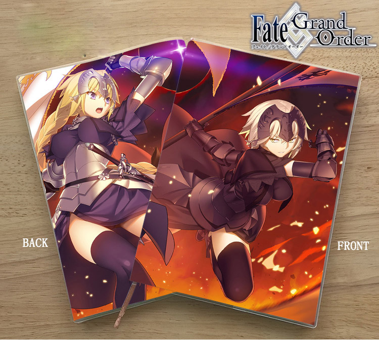 Anime Fate Grand Order SABER Student Delicate Eye Protection Notepad Diary Memorandum Birthday Gift
