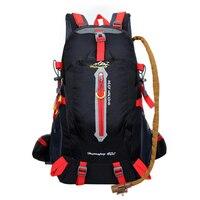 Caminhadas mochilas tomada 40l sacos do exército para homens resistente à água escalada mochila saco de esportes acampamento mochila capa chuva