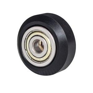 Image 5 - 12/24 pièces CNC openbuild roue POM en plastique avec 625zz roue de poulie ronde Passive/v slot Perlin roue de poulie pour CR10 Ender 3