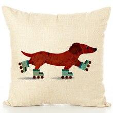 Home Furnishing Lovely Dog Hug Pillow Case Automobile Sofa Cushion