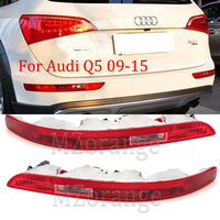 MZORANGE Rear Bumper Reflector Left/Right Side Tail Light Lower Tail Lamp Stop Brake Light for Audi Q5 2.0T 2009 2015