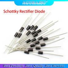 20PCS Schottky Diodos Retificadores SR240 SR260 SR360 SR540 SR560 SR2100 SR3100 SR3200 SR5100 SR5150 SR5200 FAZER-41 FAZER-27