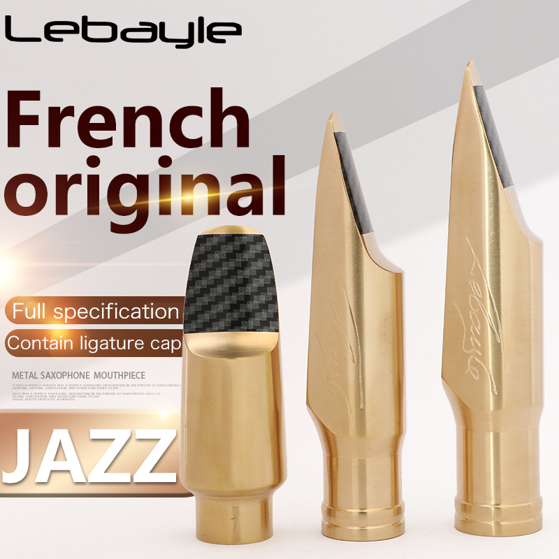 France Lebayle Sax Mouthpiece Soprano Alto Tenor Saxophone Metal Mouthpiece JAZZ