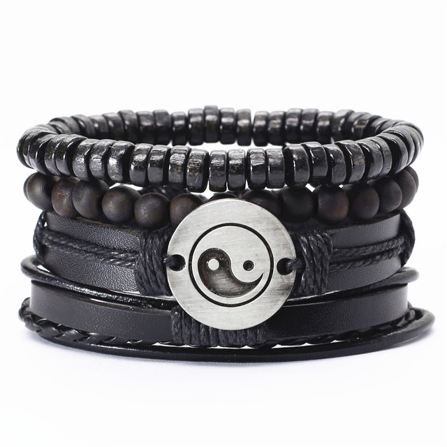 New-4-Pcs-set-Guitar-Cross-Leaf-Charm-Weave-Leather-Men-Bracelets-For-Women-Homme-Femme.jpg_640x640