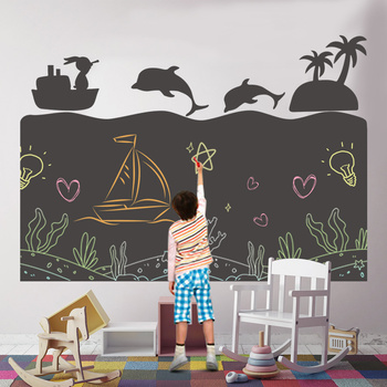 Creative Children Kids Drawing Paper Toys DIY Painting Writing Doodle Blackboard Wall Decor Sticker Montessori Educational Toy