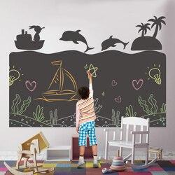 Creativo Per Bambini I Bambini di Disegno Giocattoli di Carta FAI DA TE Pittura Scrittura Doodle Lavagna Autoadesivo Della Decorazione Della Parete Montessori Giocattolo Educativo