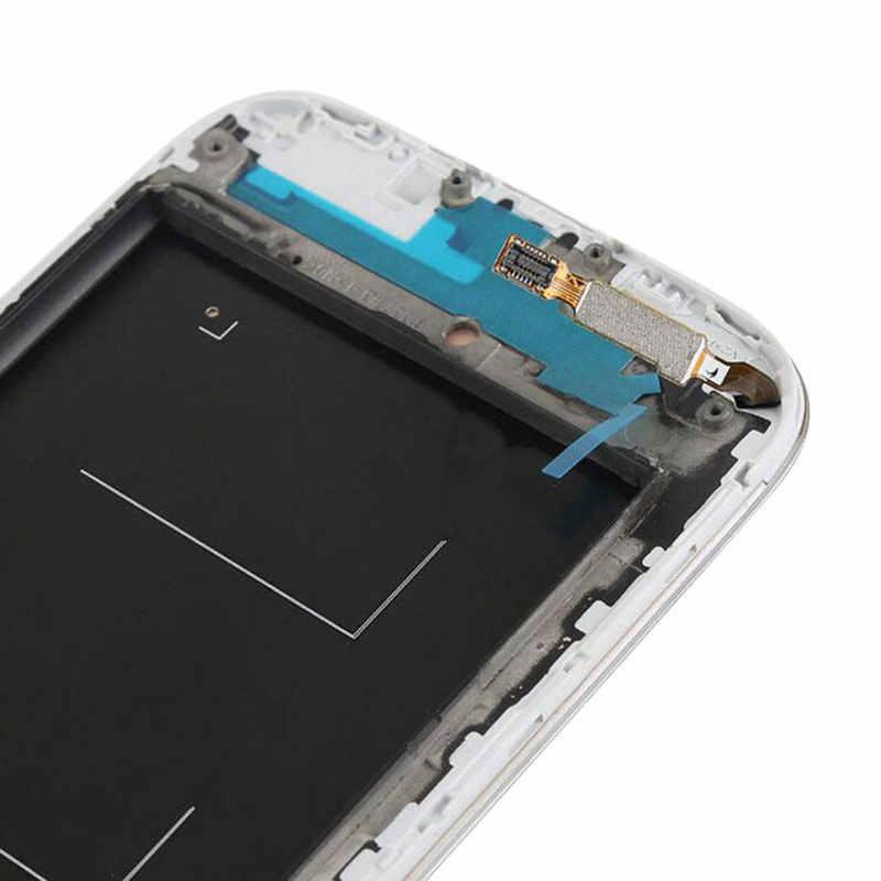 TFT شاشة الكريستال السائل لسامسونج غالاكسي S4 شاشة إل سي دي مجموعة المحولات الرقمية لشاشة تعمل بلمس استبدال GT-i9505 i9500 i9505
