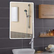 70X120cm Rectangular Bath Bathroom Mirror Anti Fog Mirror Beauty Makeup Led Mirror White Led Light Wall Mounted Bath Mirrors Hwc